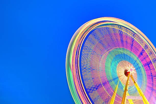 Circular carousel background. stock photo