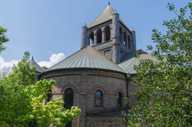 Circular Church, Charleston, South Carolina. stock photo