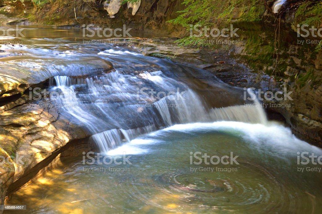 Circular Falls stock photo