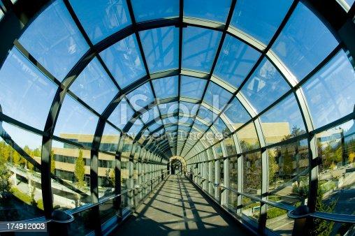 istock Circular Glass Sky Bridge 174912003