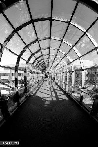 istock Circular Glass Tunnel 174906780