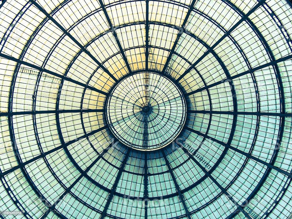 circular iron net stock photo
