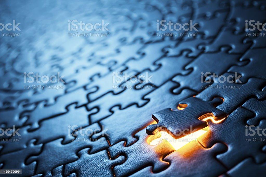 Circular Puzzle - Photo