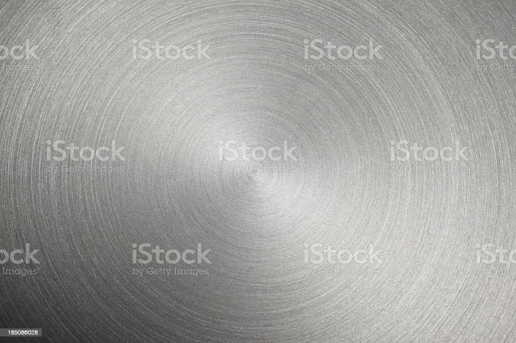 Circular Metal Brushed Texture royalty-free stock photo