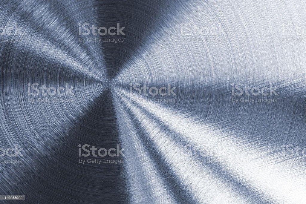 Circular Metallic Texture royalty-free stock photo