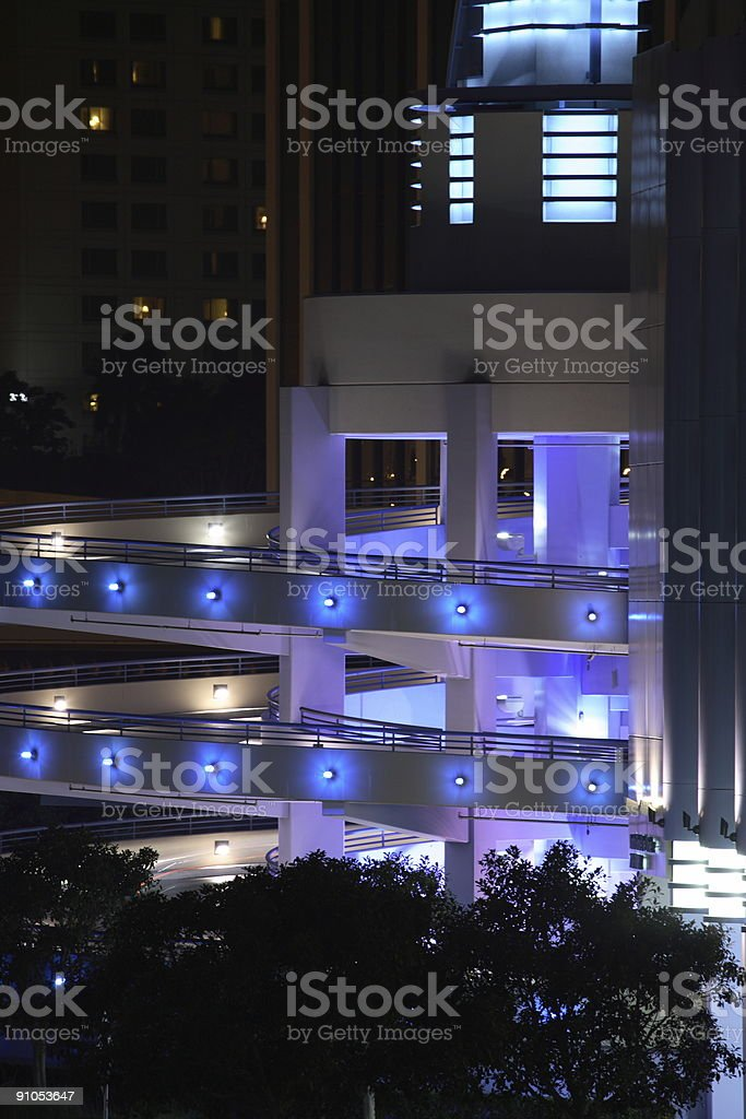 Circular Parking Structure royalty-free stock photo