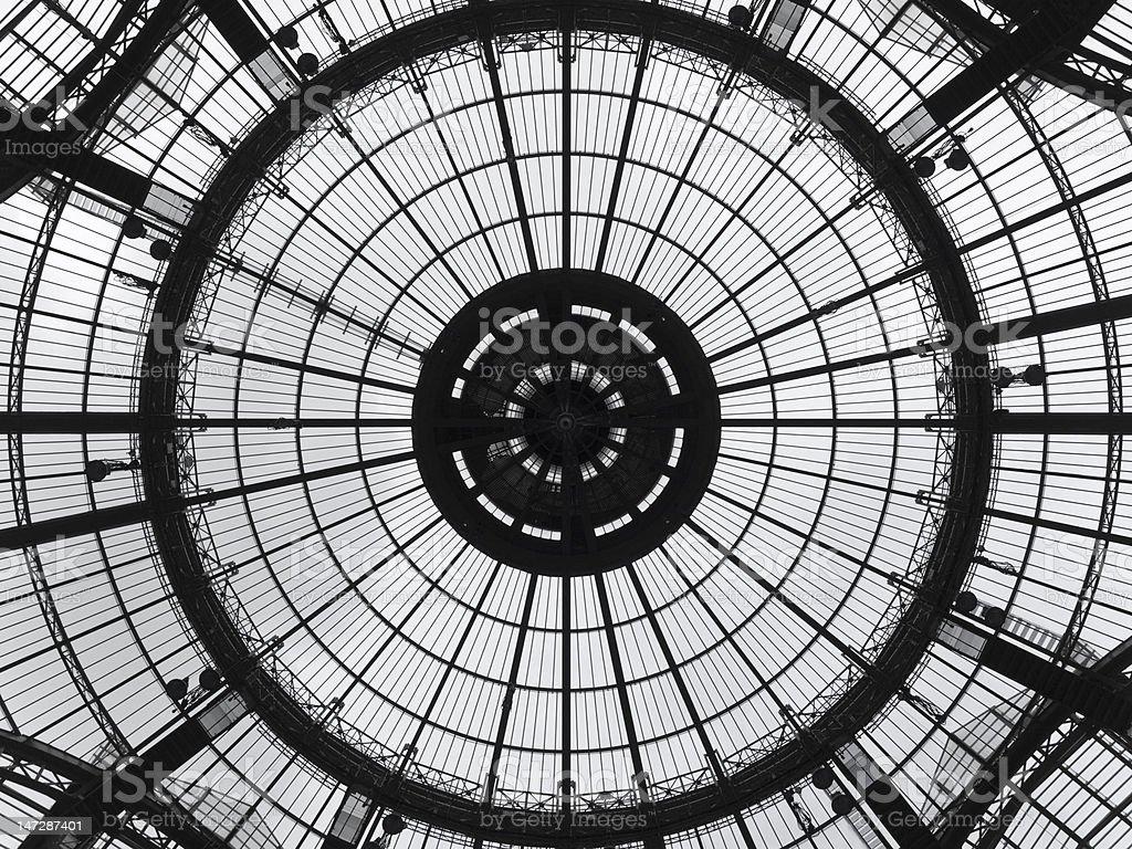 Circular pattern royalty-free stock photo