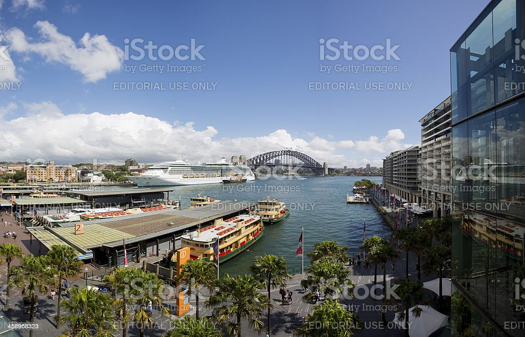 Circular Quay, Sydney, Australia stock photo