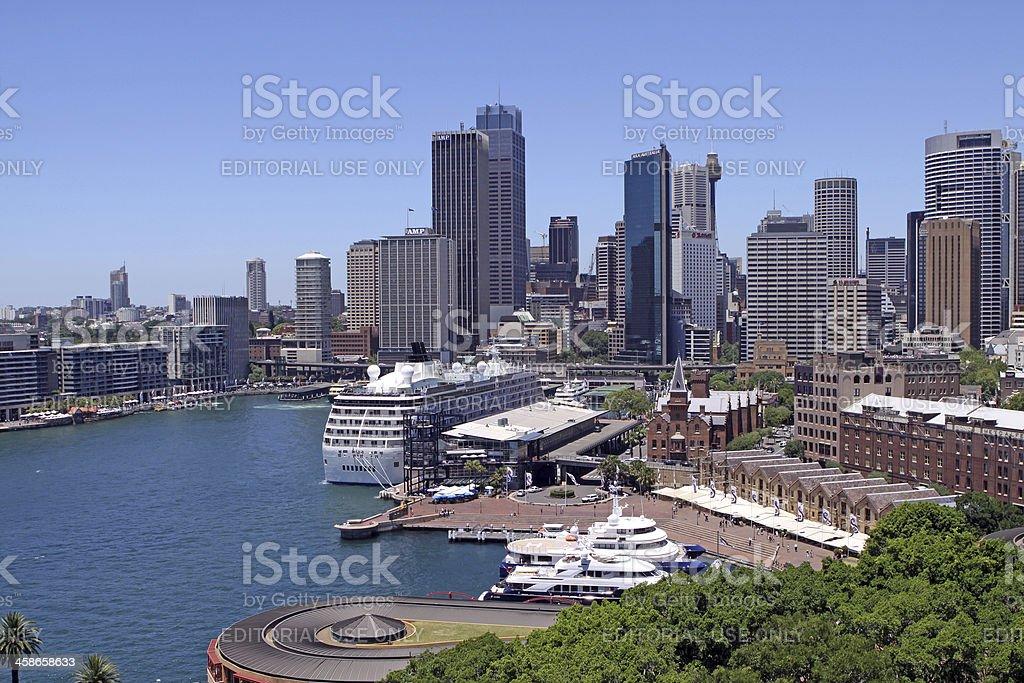 Circular Quay. Sydney royalty-free stock photo