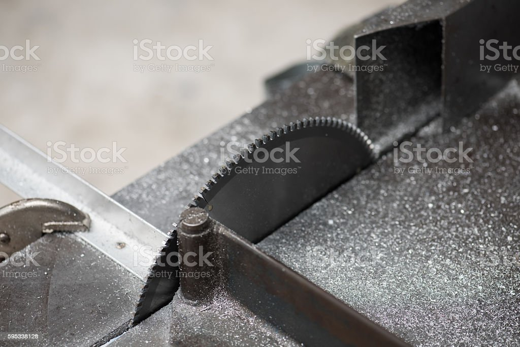 Circular Saw Blade For Aluminum Stock Photo & More Pictures of