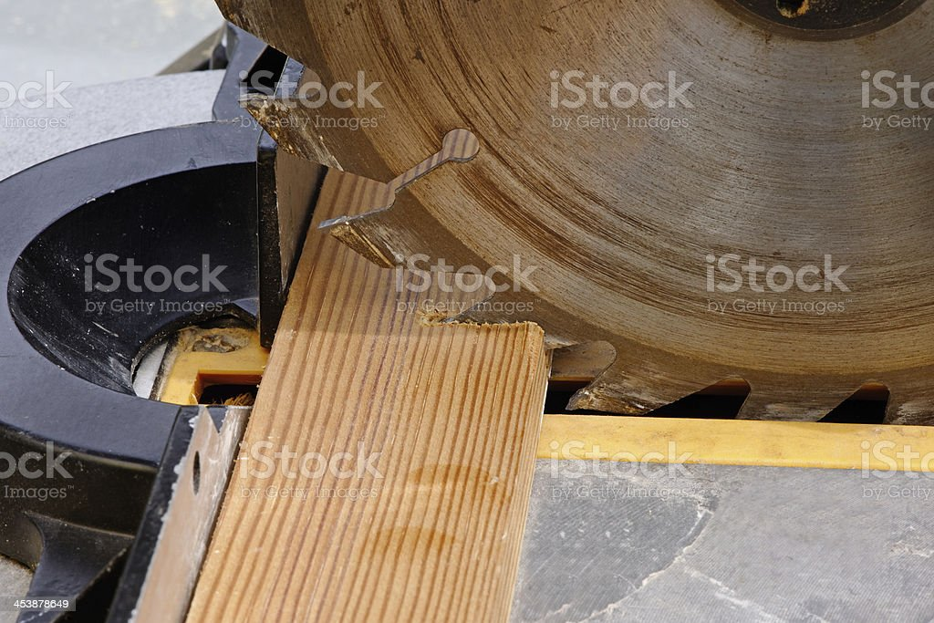 Circular Saw Close UP royalty-free stock photo