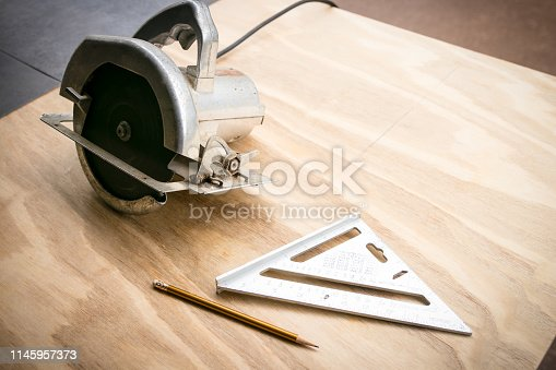 Carpenter's tools of the trade