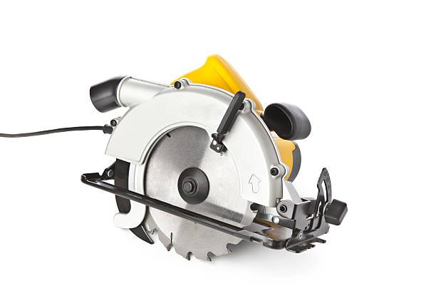 circular saw - elektrisch gereedschap stockfoto's en -beelden
