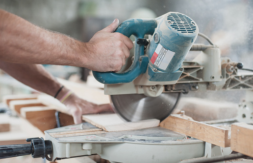 Circular Saw Stock Photo - Download Image Now