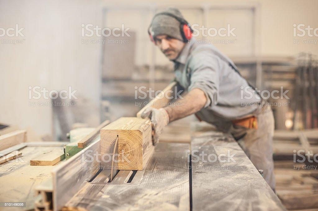 Circular Saw stock photo