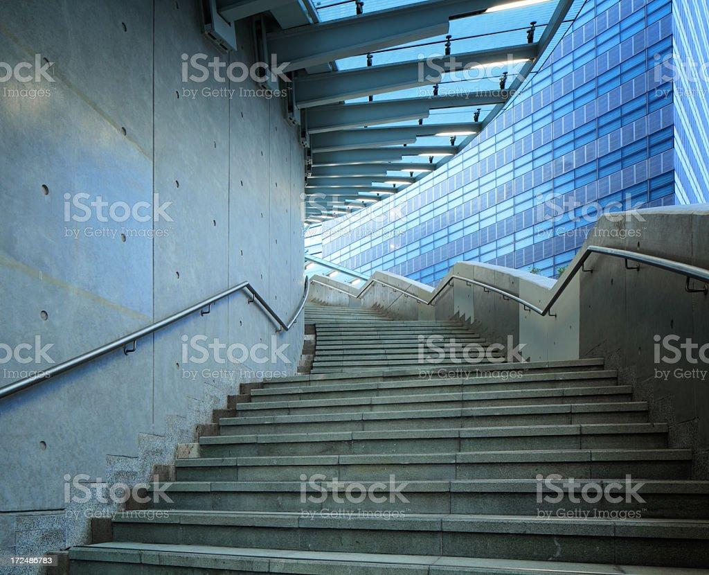 Circular stairway royalty-free stock photo