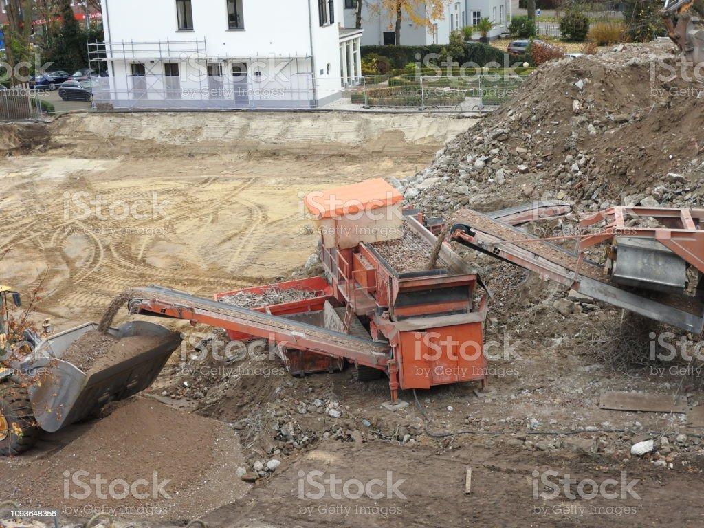 Circular Sustainable Demolition Of Building Machines