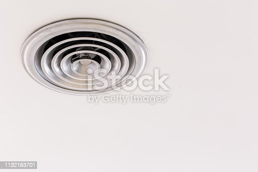 1132163701 istock photo Circular Ventilation for air conditioning texture background 1132163701