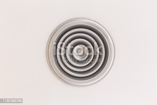 1132163701 istock photo Circular Ventilation for air conditioning texture background 1132163705