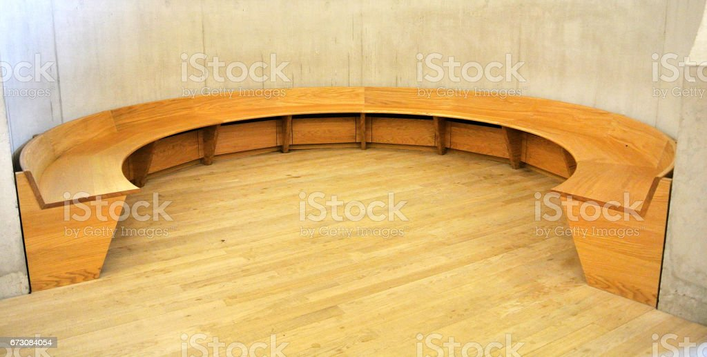 Surprising Circular Wooden Bench Stock Photo Download Image Now Istock Cjindustries Chair Design For Home Cjindustriesco