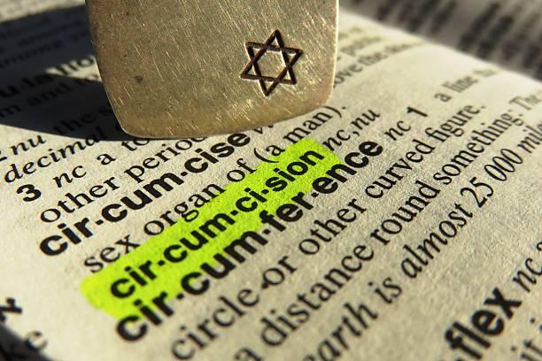 définition de dictionnaire circumcision - circoncision photos et images de collection
