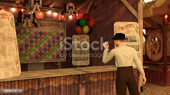 Circus sideshow attraction