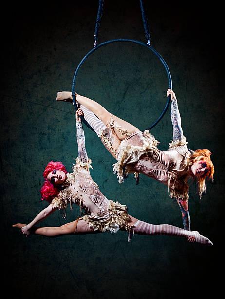 Artistes de cirque Hoop - Photo