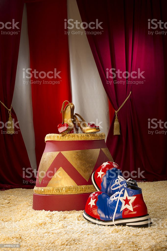 circus love stock photo