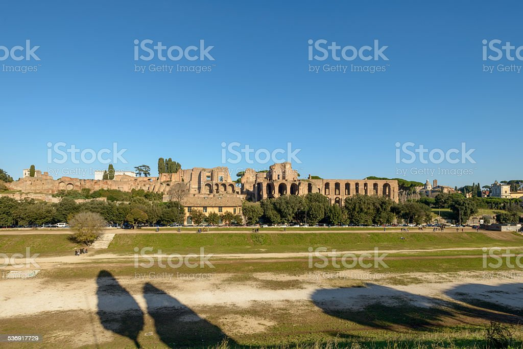 Circo massimo stock photo