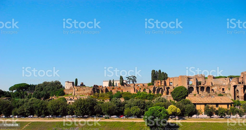 Circo Massimo, Rome. stock photo