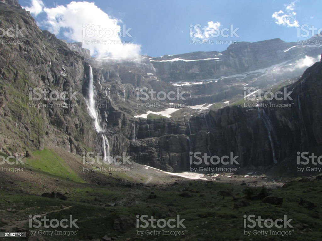 Cirque de Gavarnie stock photo