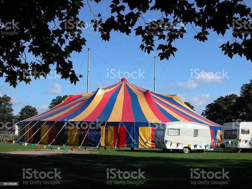 Circus tent royalty-free stock photo