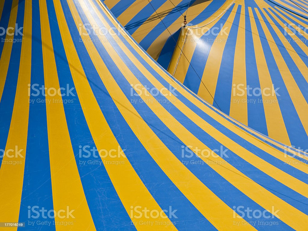 Circus Tent Roof Abstract stock photo