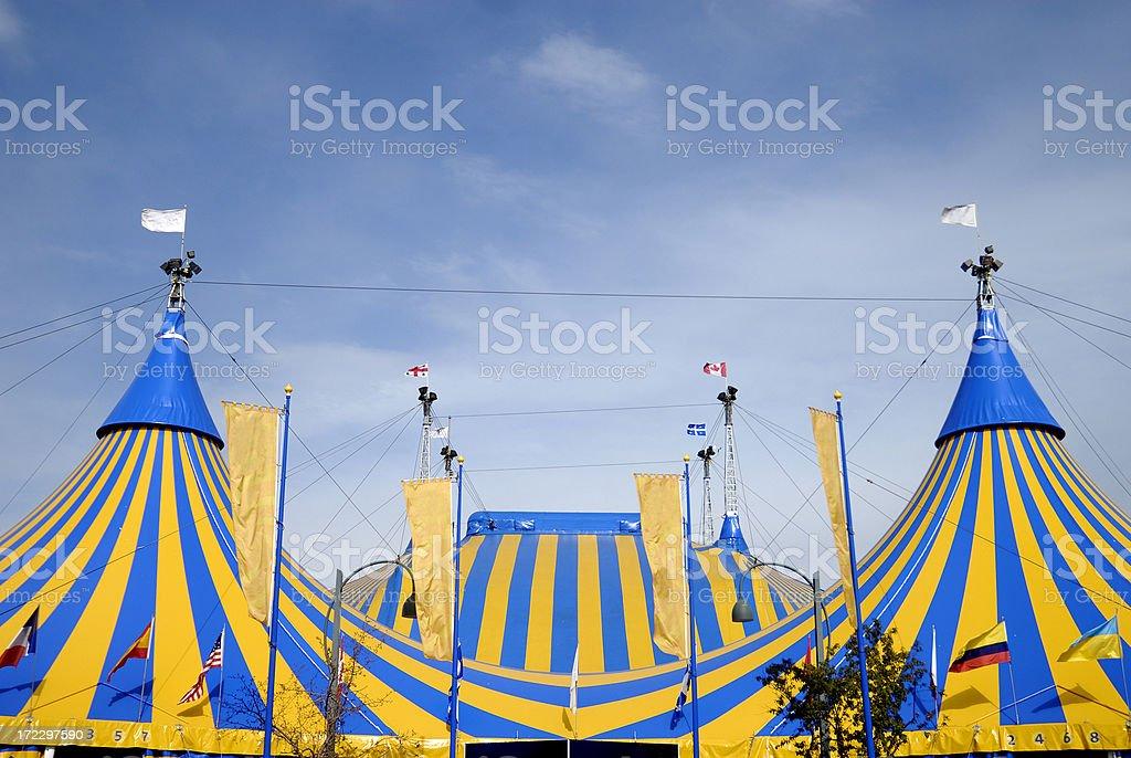 Circus Tents royalty-free stock photo