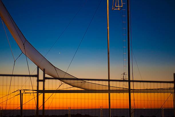 circus in trapezform - trapez stock-fotos und bilder