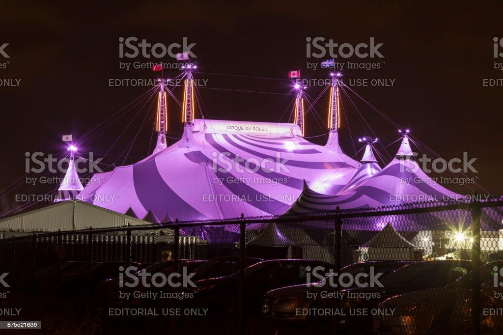 Cirque du Soleil Zirkus in Toronto, Kanada Lizenzfreies stock-foto