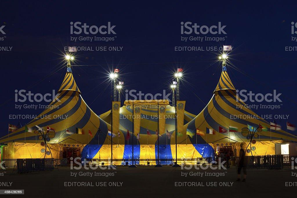 Cirque du Soleil stock photo