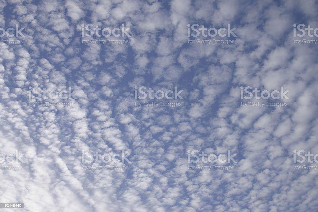 Cirrocumulus stock photo