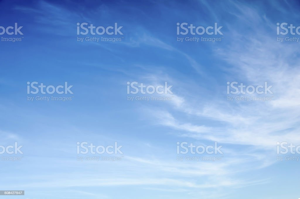 Cirrus Clouds stock photo