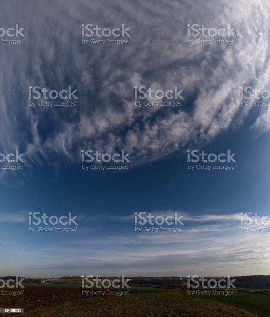 cirrus Wolken Lizenzfreies stock-foto