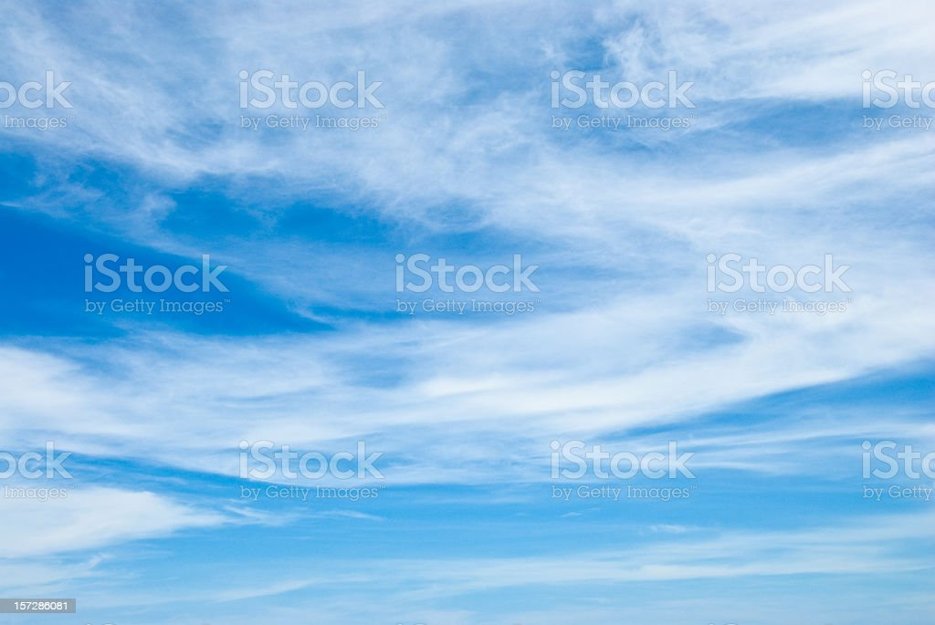 Cirrus Cloudscapes stock photo