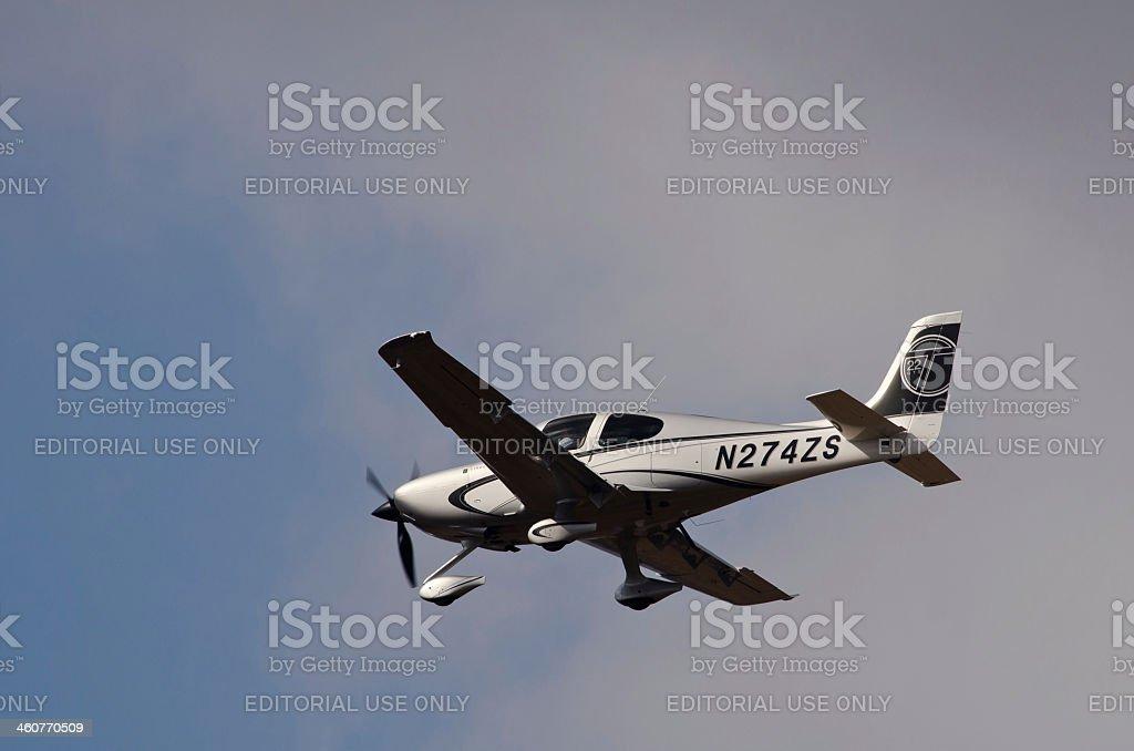 Cirrus SR-22 stock photo