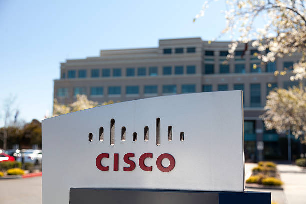 Cisco Systems San Jose Calfornia stock photo