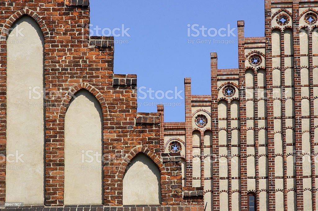 Cistercian Abbey, Kloster Zinna stock photo