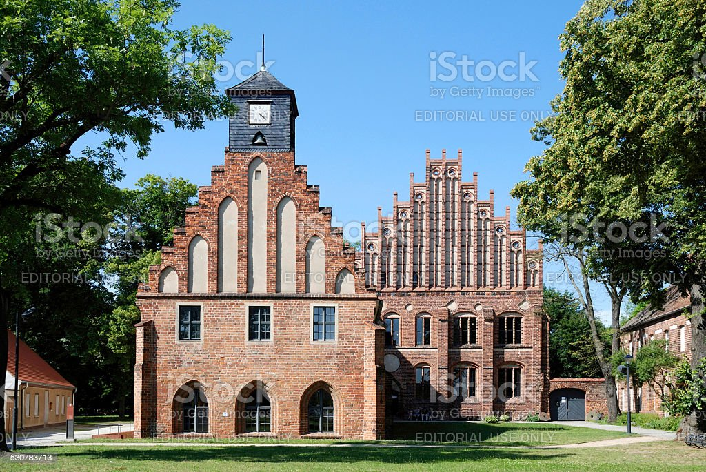 Cistercian monastery Zinna stock photo