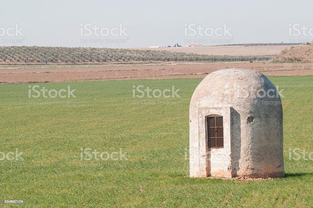 Cistern stock photo