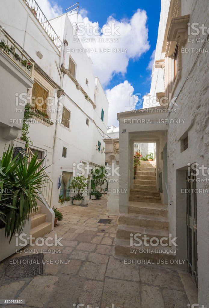 Cisternino (Puglia, Italy) stock photo