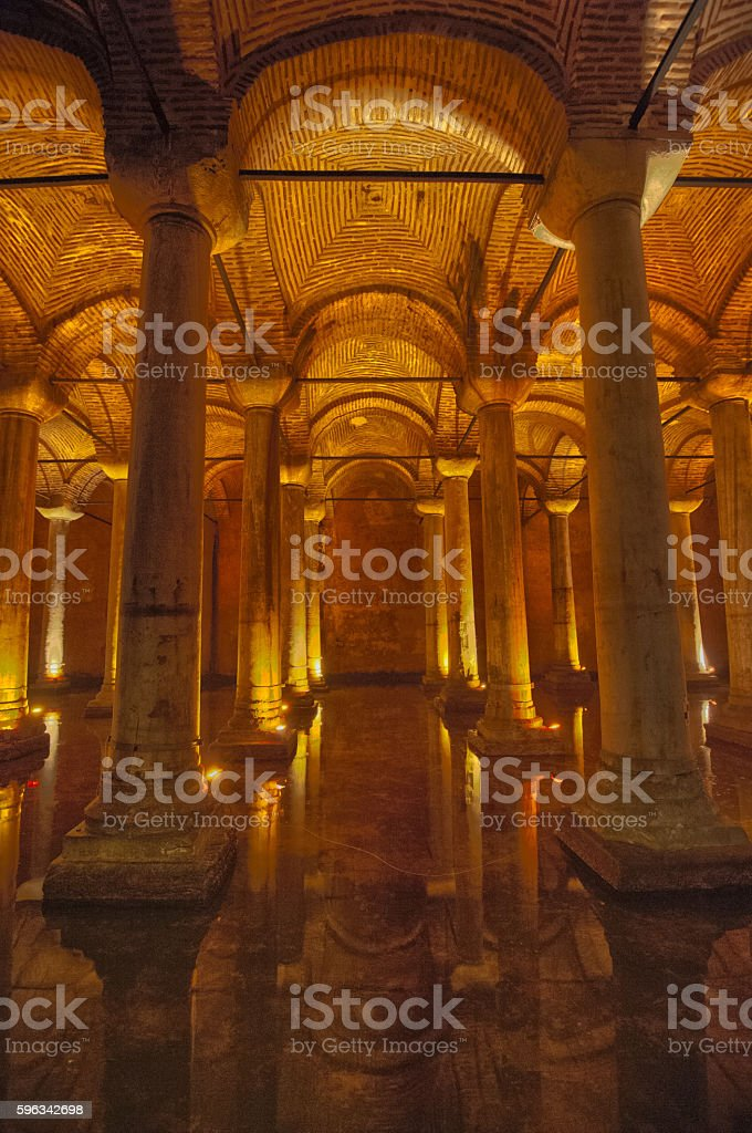 Cisterns royalty-free stock photo