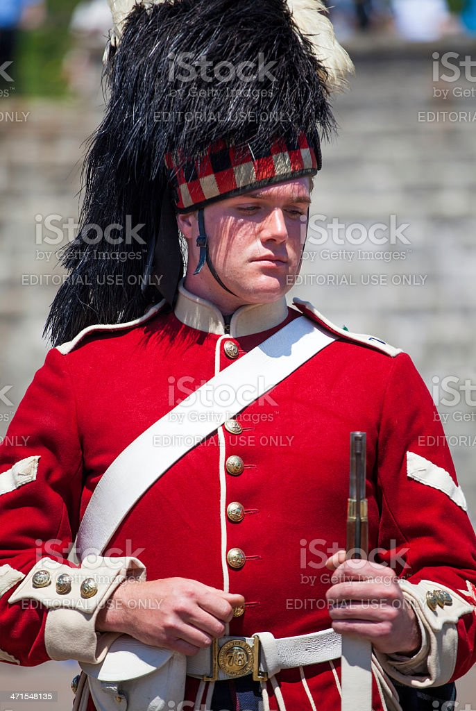Citadel Hill Anniversary Performance Guard royalty-free stock photo