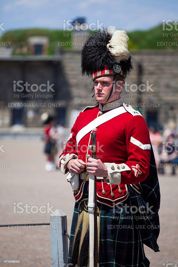Citadel Hill Anniversary Performance Guard royalty-free stock photo